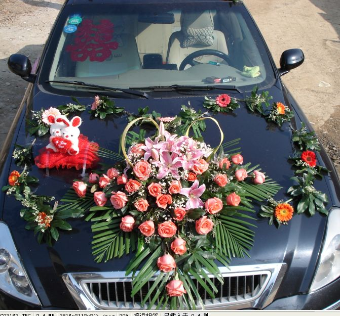 欧式花车装饰图片