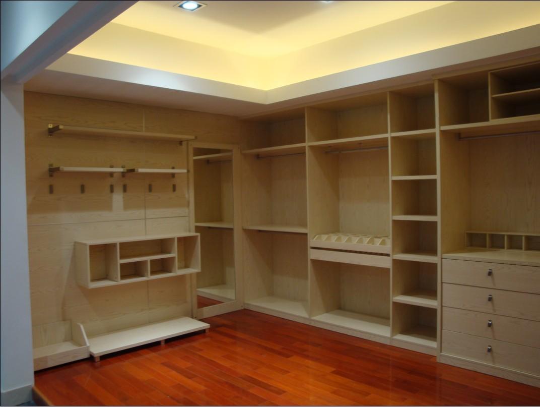 衣帽间衣柜设计图 整体衣柜设计效果图实用衣帽间打造清爽