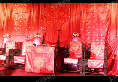 婚礼现场布景 高清图片
