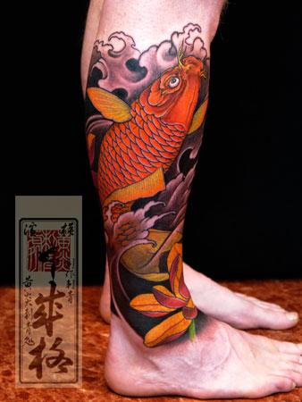 鱼 纹身图片