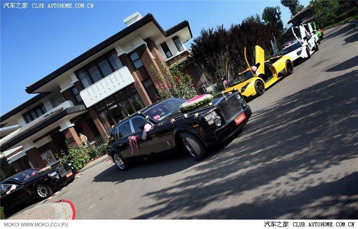 车迷必看啊北京超强的兰博基尼婚车队 高清大图 申精 百姓高清图片