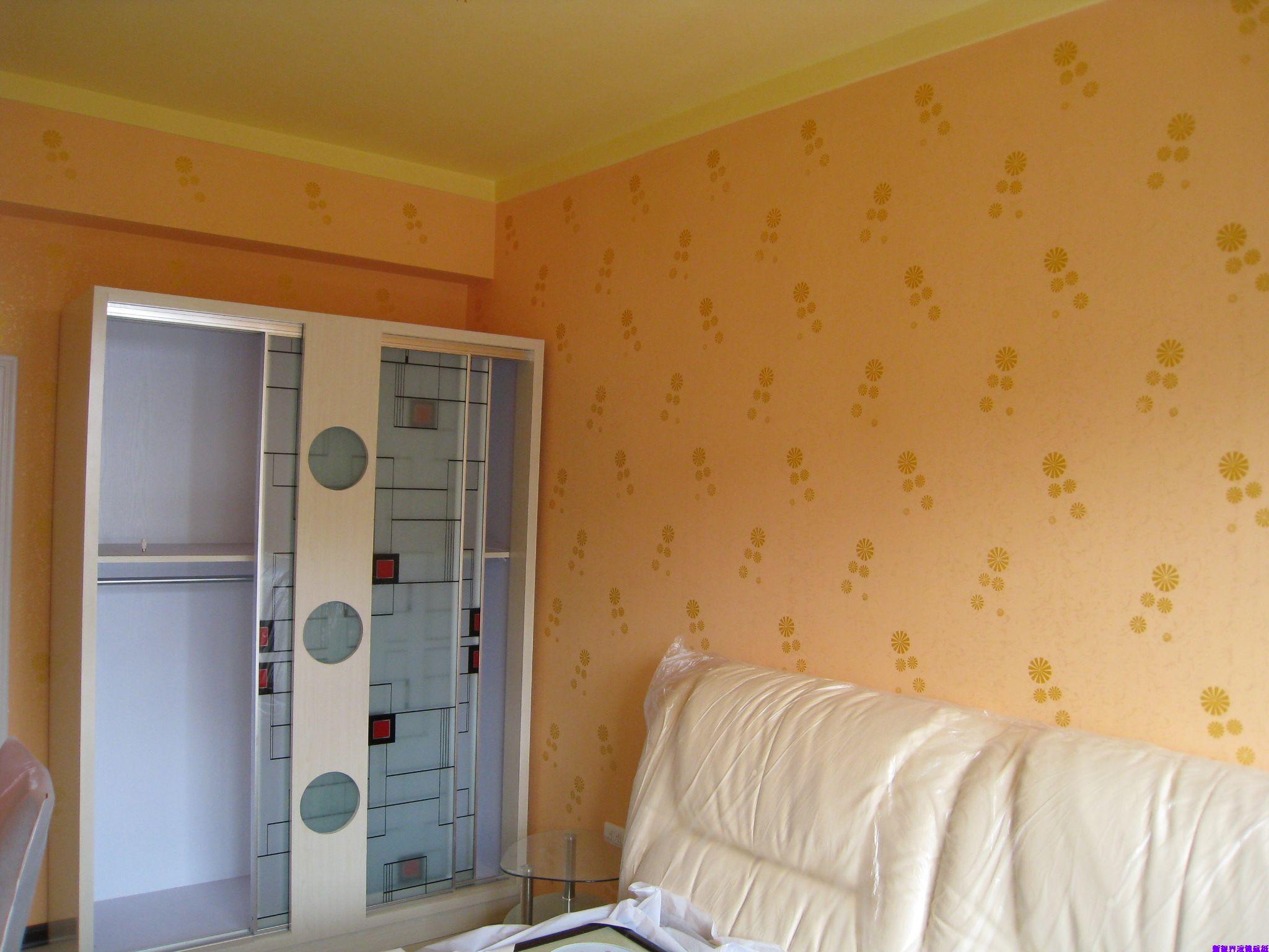 室内液体壁纸装饰效果