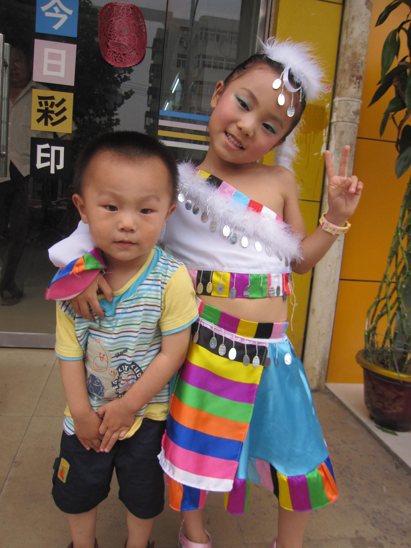 幼儿园走秀的服装设计,幼儿园大班走秀服装,幼儿园大班走秀,高清图片