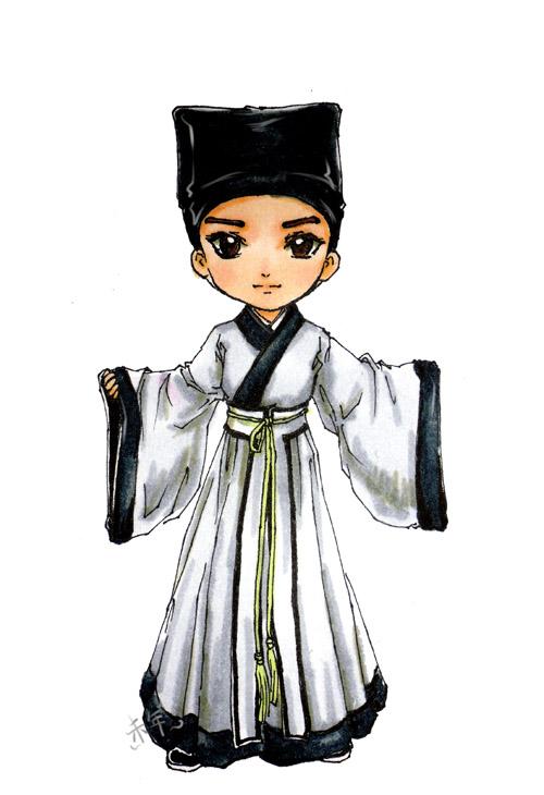 """华夏汉族文化衣冠""""汉服"""",你们造吗? - 茶几 - 生活就像一个茶几"""