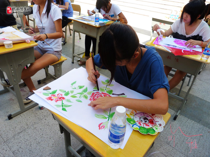 西县2011年感恩节中小学生书画比赛