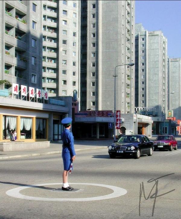 朝鲜 漂亮/朝鲜女交警