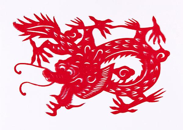 民间文化剪纸十二生肖龙图欣赏 民间文化 资讯频道 生态旅