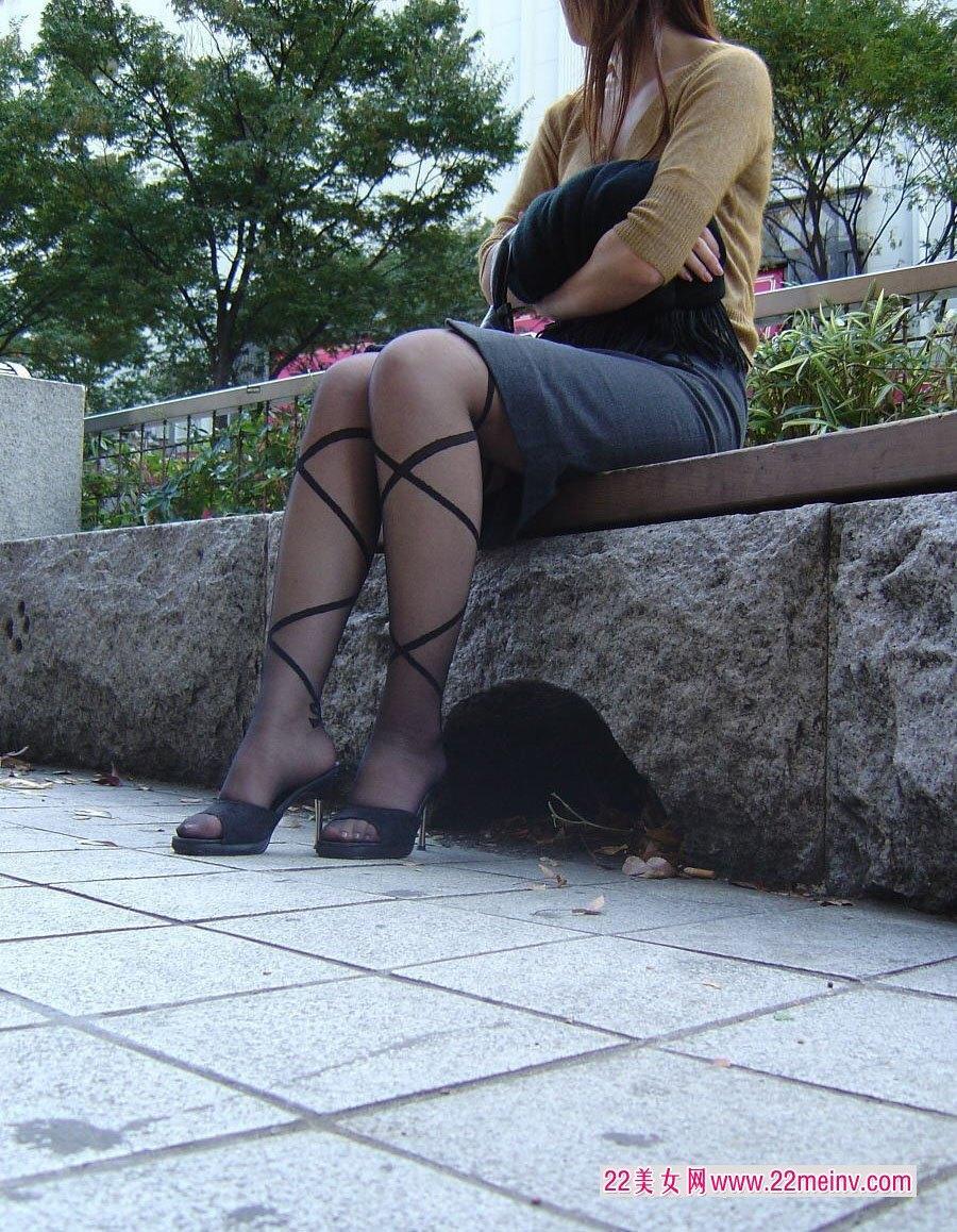 另类黑丝高跟女人静香shizuka