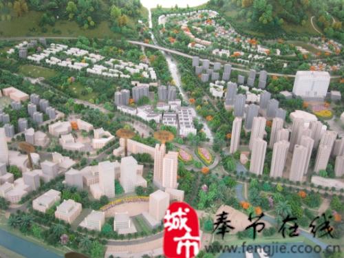 奉节县西部新区规划图