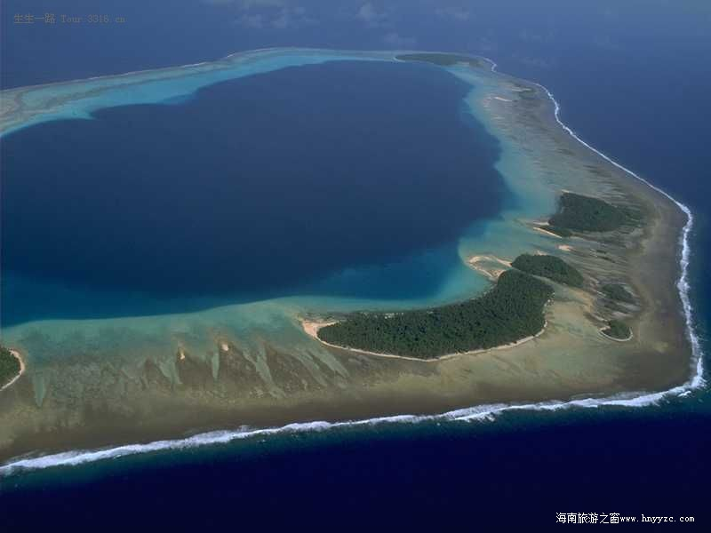 中国南沙群岛风光