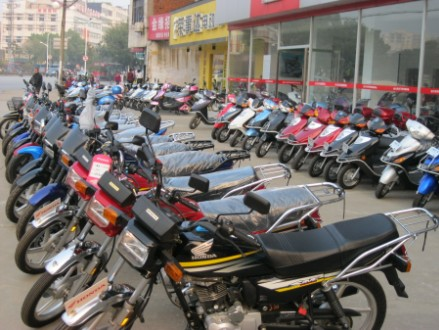 新大洲本田摩托车销售部