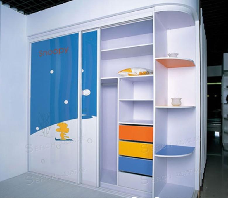 适而居整体衣柜 适而居儿童衣柜门 装修效果图 上海搜房装