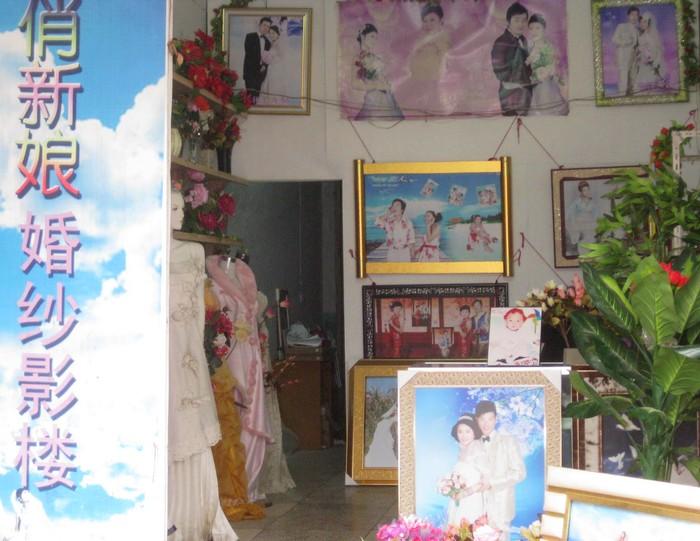 新娘婚纱摄影楼_百合新娘婚纱摄影