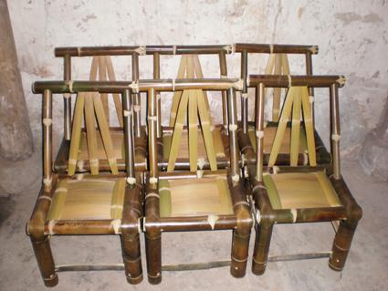 竹椅的做法图解
