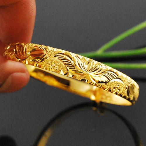 黄金手镯花纹都代表什么含义?