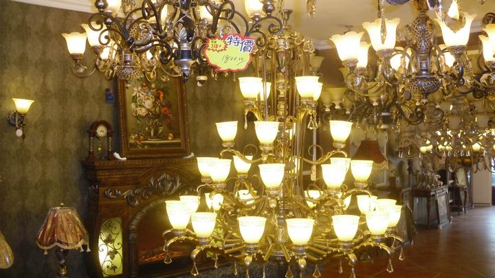 广汉阿斯诺欧式灯饰馆
