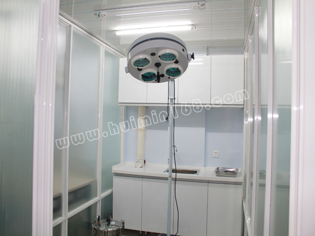 手术室全景   高压灭菌锅   美容、洗浴室   各科室全景
