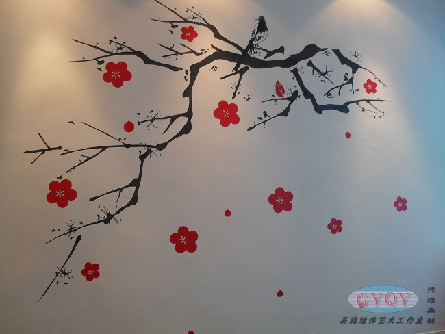 墙绘图片素材简约
