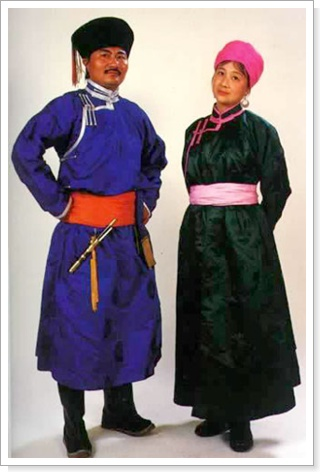 蒙古族服饰 _本地文化