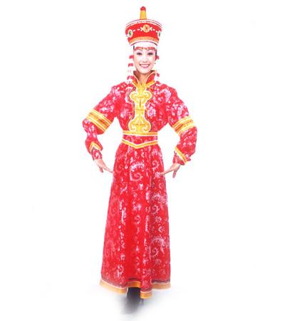蒙古族的服饰特点