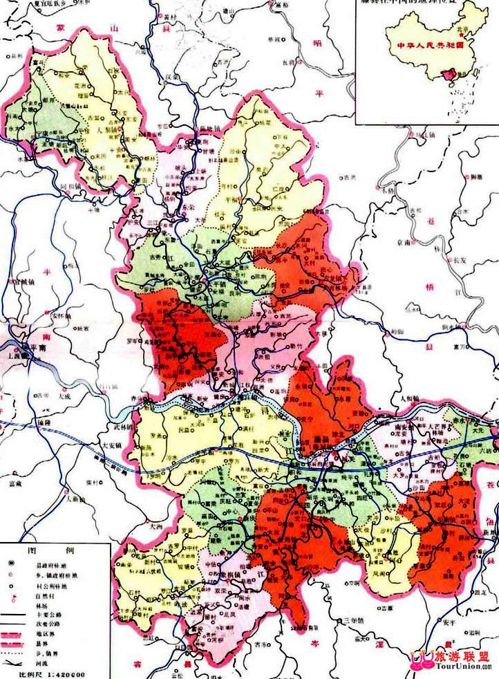 梧州市地图图片