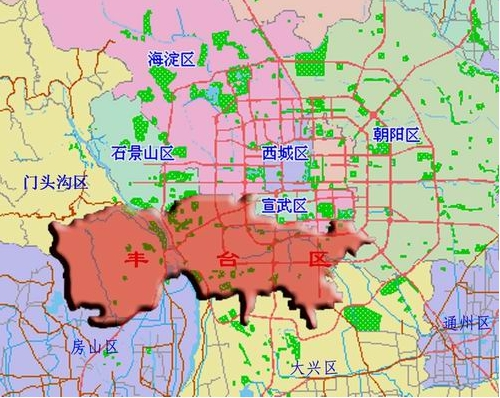 从丰台科技城到北京市丰台区西四环南路46号国润商务大厦b座怎么走?
