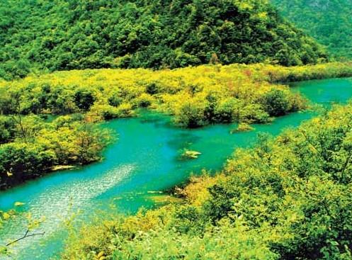 徽县三滩自然风景区