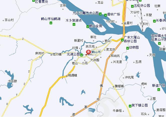 广东省立体地图全图图片_连云; 本地通首页 辖区导航; 鹤山区位图