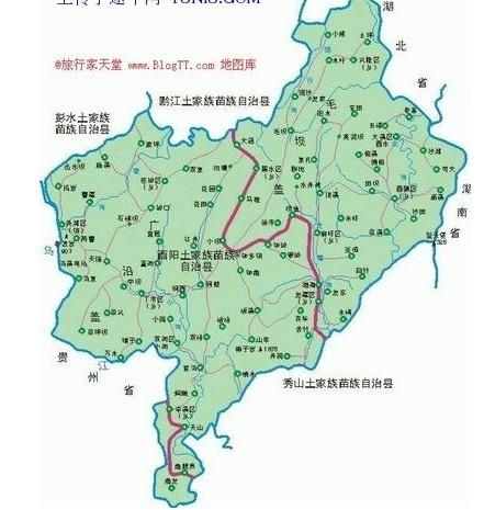 酉阳地图高清 图片合集