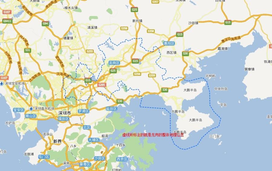 北京古城手绘地图