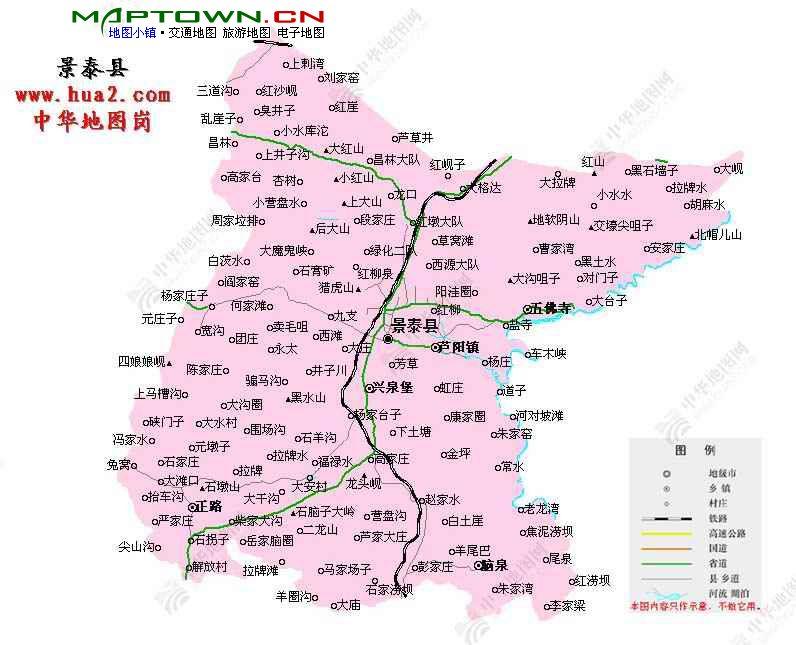 永泰塔山公园地图