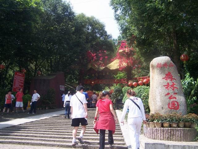 容县森林公园_旅游景点-梧州容县 广西玉林容县 容县地图 容县近代建图片