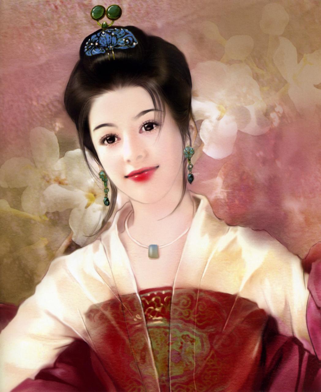 主题: 手绘古典美女(组图)