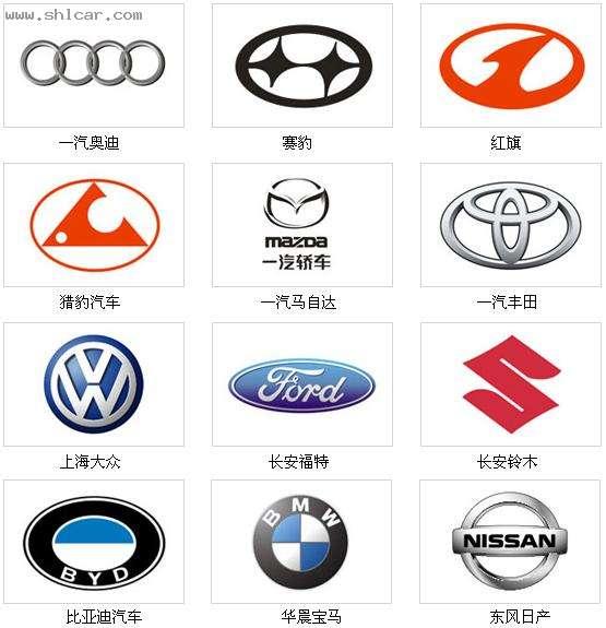 国产车牌子标志大全 国产车牌子图标大全 国产车标志图片大全