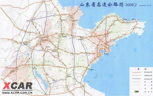 山东高速公路地图