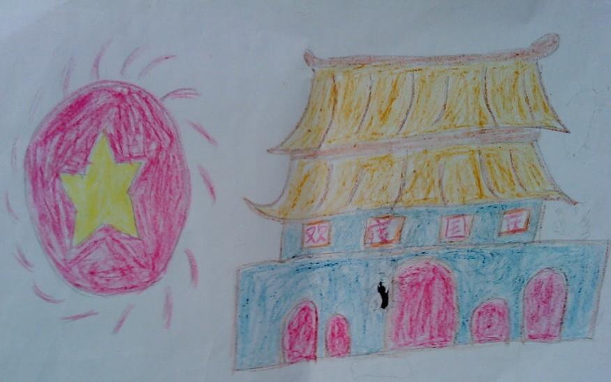 小学生六一儿童节图画_手抄报网