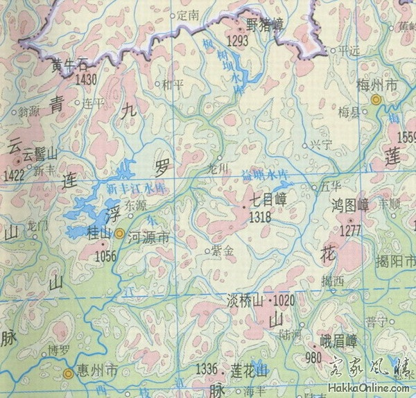 莲花山山脉