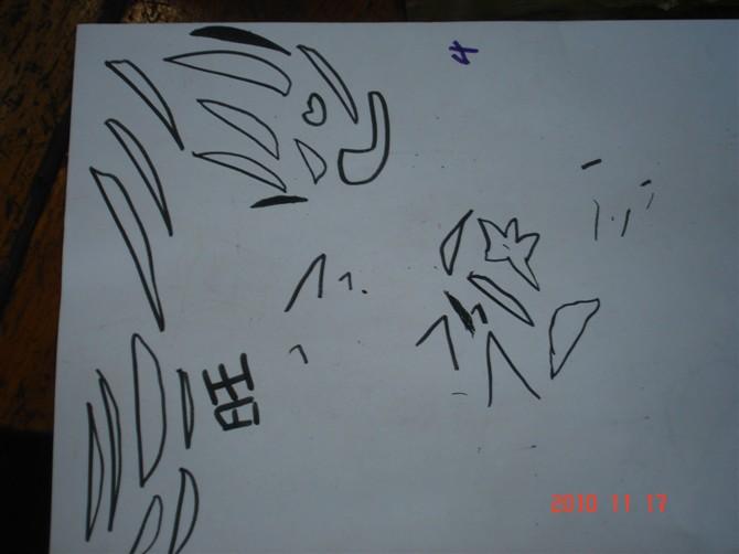 儿童画 简笔画 手绘 线稿 670_502