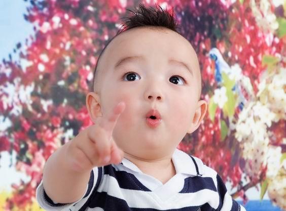 小名:叮叮年龄:三岁两个月 顽皮可爱