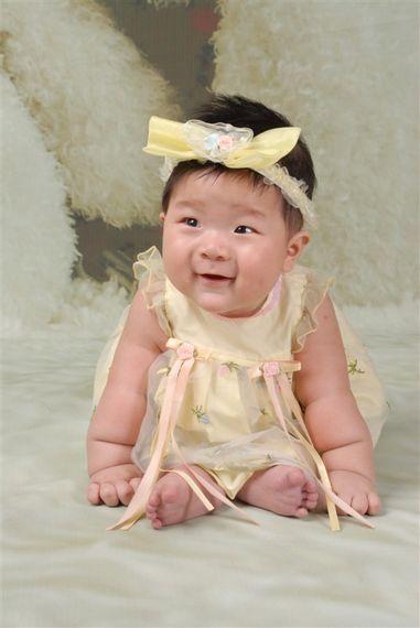 小名:虎妞年龄:四个月是一个调皮可爱活泼的小女孩儿&
