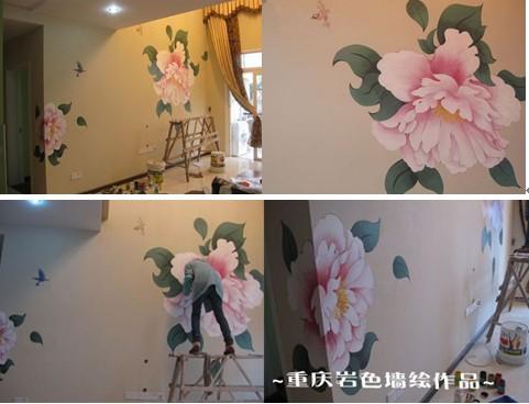 主题: 手绘壁画欣赏重庆岩色墙绘