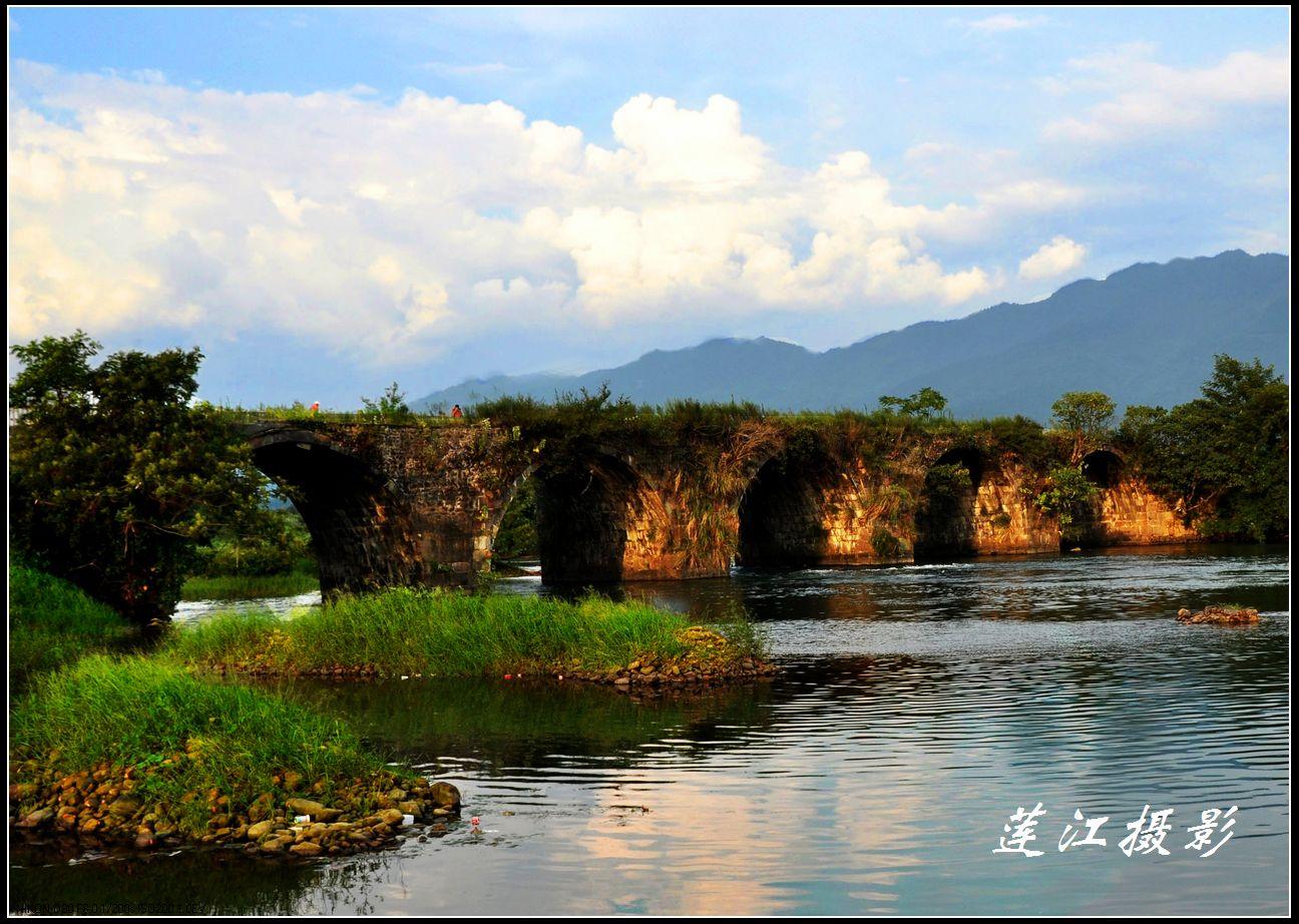 古老的莲花石拱桥 摄影沙龙