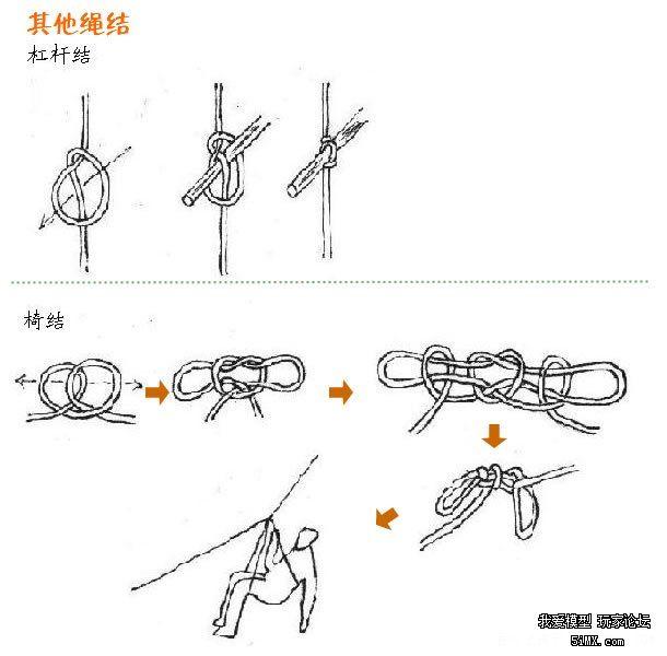 红绳打结图解 各种绳子打结方法 原创