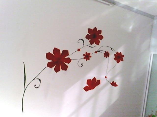 简单手绘墙画素材