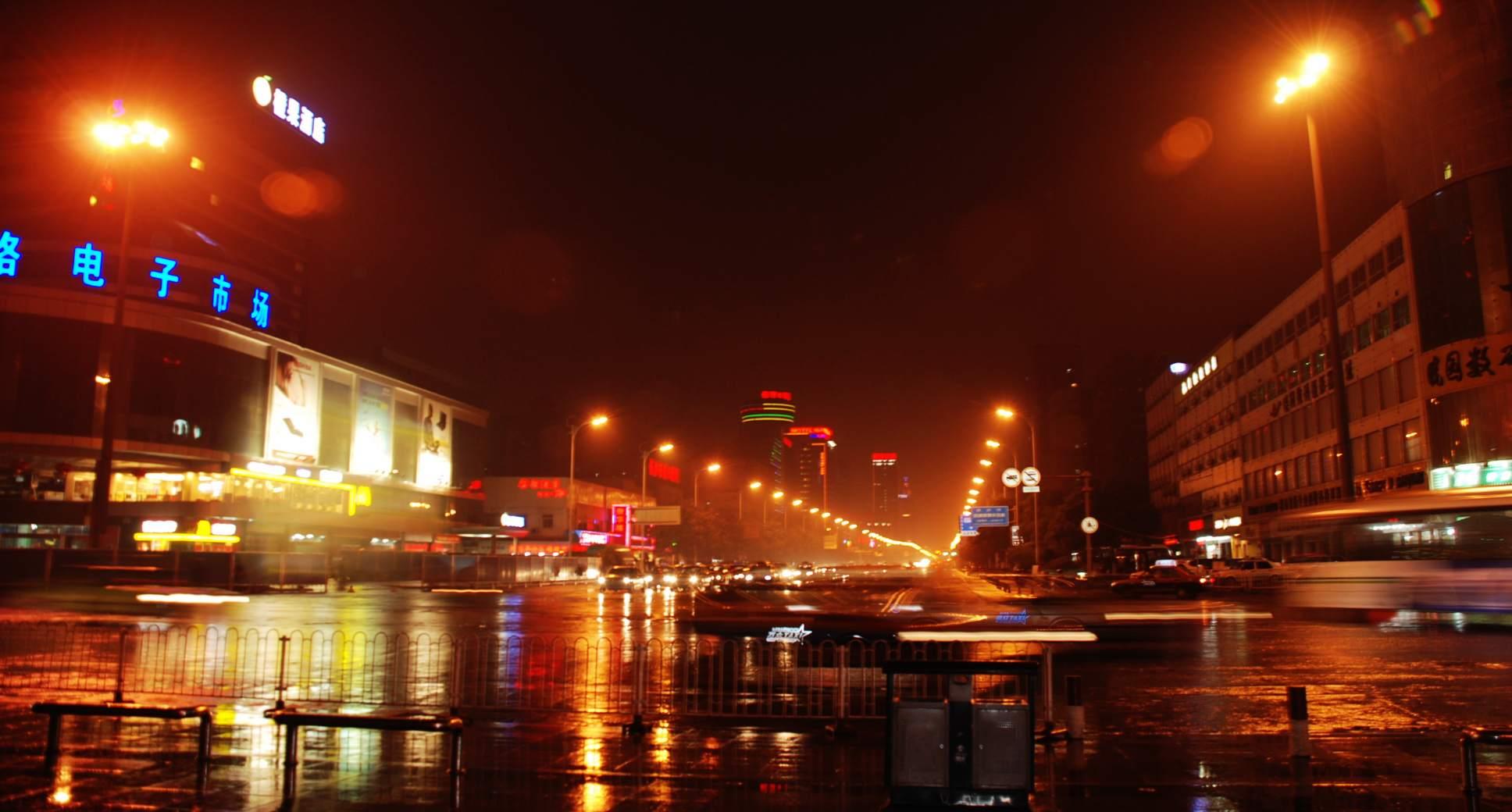 主题: [原创]长沙车站夜景