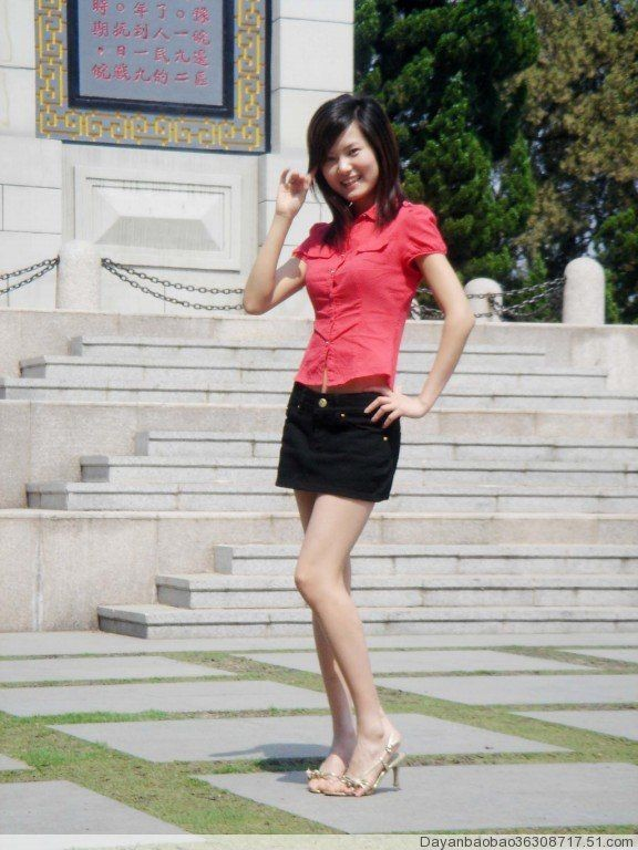 韩国美女亮相论坛图片