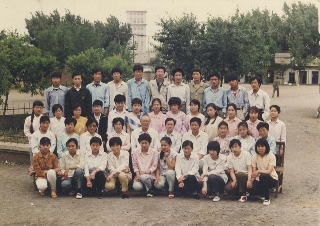 青岛八中老照片