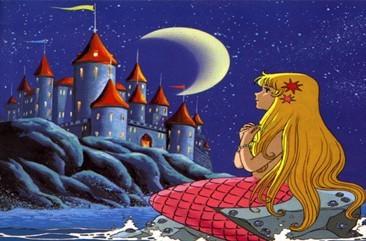卡通童话素材城堡图_简笔画