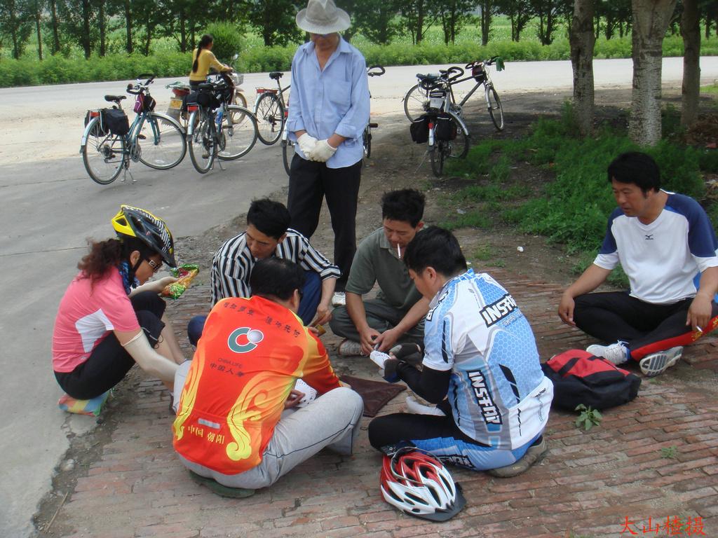主题: [原创]6月19日休闲骑行榆树林子,祝贺父亲节