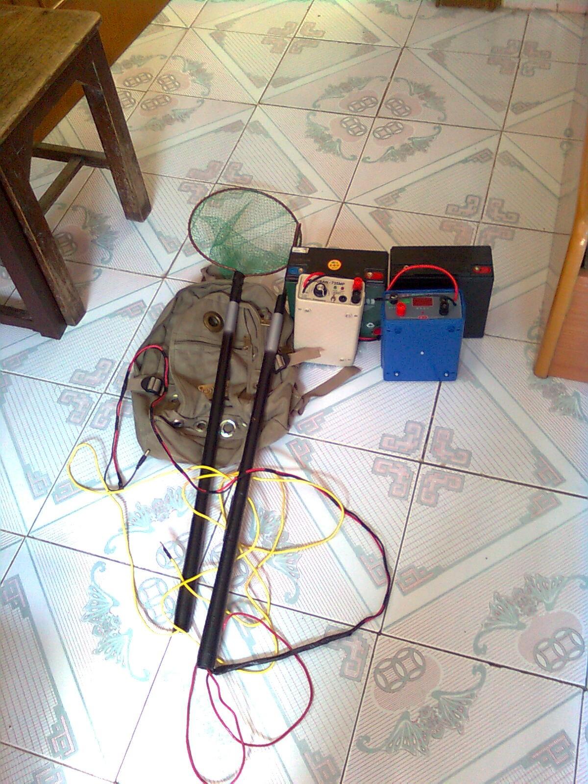 白金电鱼机网抄接线图